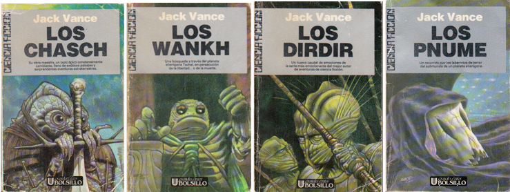 Ciclo de Tschai Jack Vance