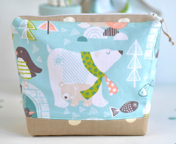 Fabric Wash Bag Sewing DIY Tutorial