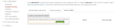 google url removal