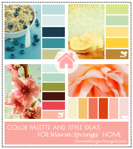 Color palette and style ideas for Warm Springs' home