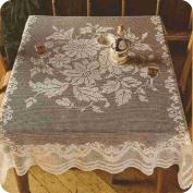 "Mantel rectangular ""Flores veraniegas"" a Crochet"
