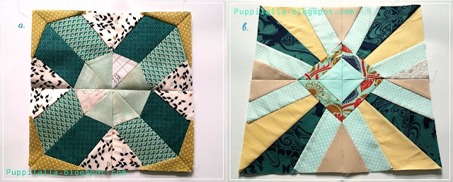 Puppilalla Paper Foundation Piecing Sampler Quilt Blocks