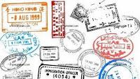 Sellos de pasaportes.