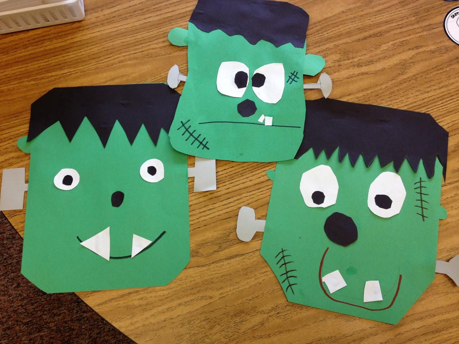 Classroom Freebies Too Frankenstein Craft