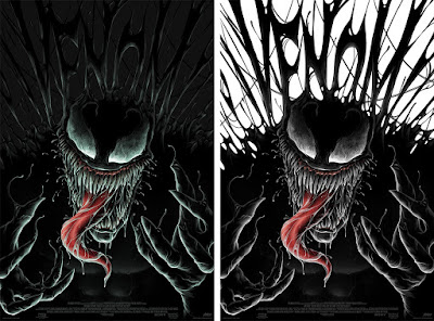Venom Movie Poster Screen Print by Matt Ryan Tobin x Mondo