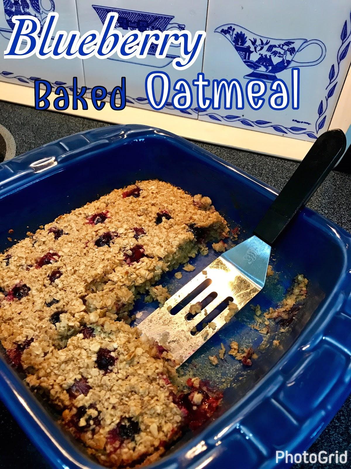 Rita S Recipes Blueberry Baked Oatmeal