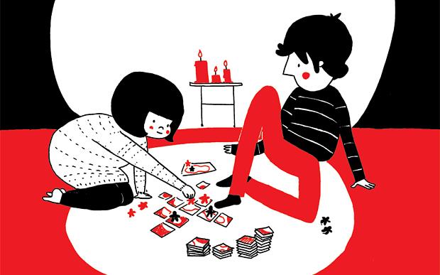 Imagen álbum ilustrado Soppy juegos de cartas