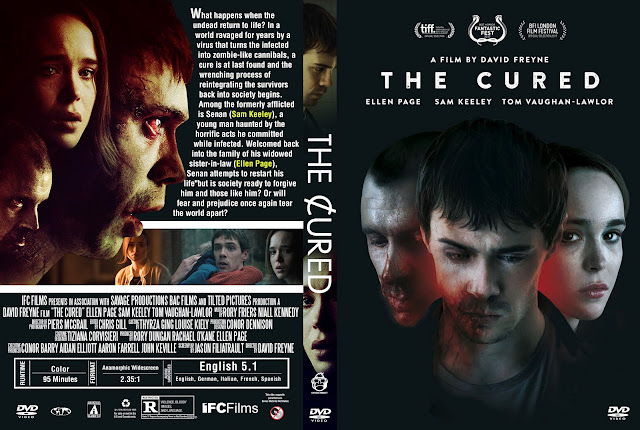 The Cured DVD Cover