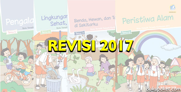 Download Buku Tematik Kelas 1 Semester 2 Revisi 2017