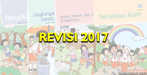 Download Buku Tematik Kelas 1 Semester 2 Revisi 2017