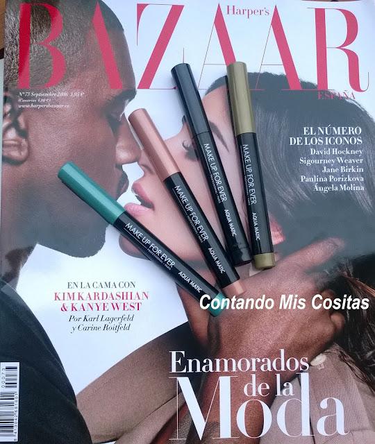 Make Up For Ever con Harper's Bazaar