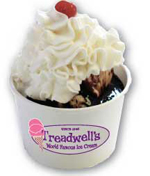 Image of Treadwell's Icecream in preparation for the 5th Grade Ice Cream Social at SMS