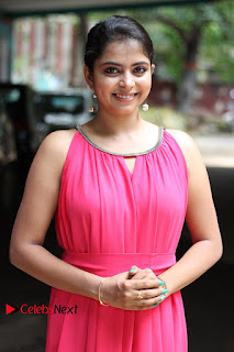 Actress atri Rema Pictures in Pink Dress 0004