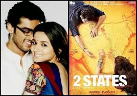 2 States Official Trailer featuring Arjun Kapoor and Alia Bhatt