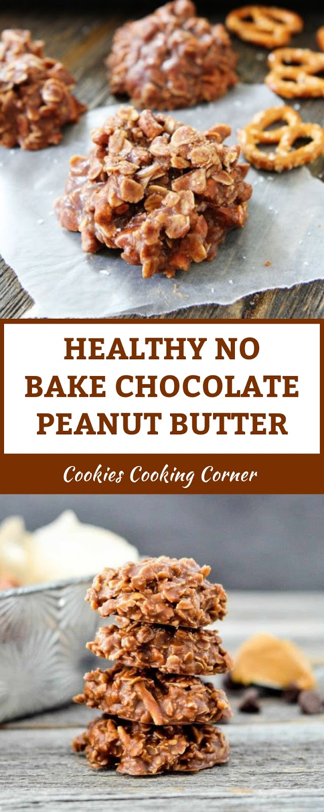 HEALTHY NO BAKE CHOCOLATE PEANUT BUTTER