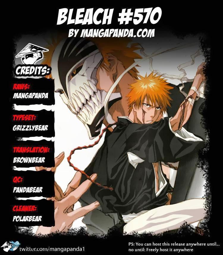 Bleach chapter 570 trang 22