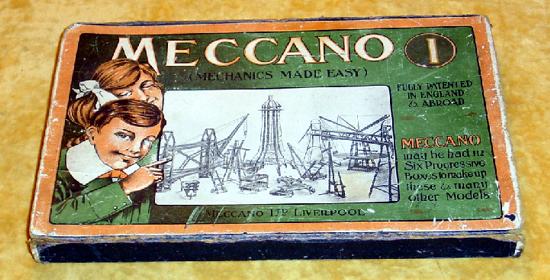 Meccano 1908 box