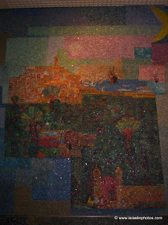 The Mosaics of Migdal Shalom (Shalom Tower) Tel Aviv