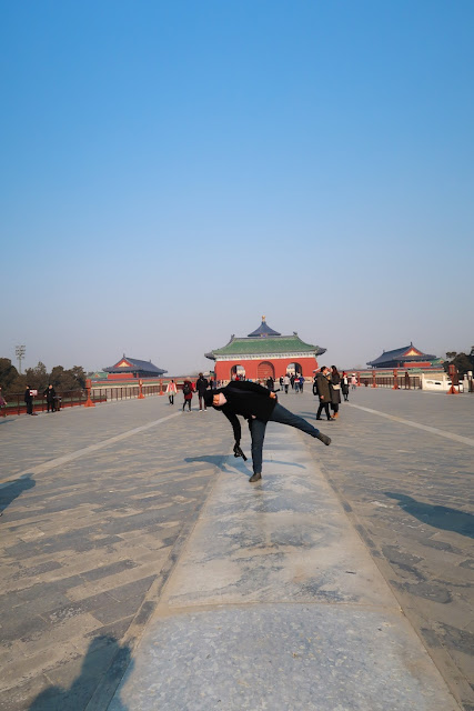 temple of heaven beijing musim dingin
