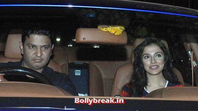 Bhushan Kumar and Divya Khosla, Celebs at Heropanti Special Screening