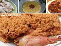 Resep Ayam Goreng ala Ny. Suharti Lengkap dengan Resep Kremes dan Sambalnya. Enak Sampai Gigitan Terakhir!
