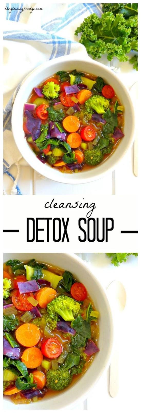 Cleansing Detox Soup #soup #souprecipes #healthysouprecipes #cleansingdetoxsoup  #healthysoup