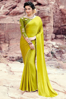 88ccf96117db2 You can just hunt your wardrobe for plain blouses and try different  combinations with your plain saree to see ...