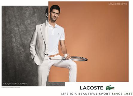 ac41cf37b3b76 Construído em 1928 em homenagem a vitória de René Lacoste na Copa Davis,  permanece como símbolo da elegância do tênis francês.
