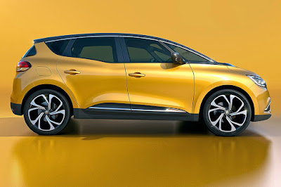 Upcoming 2017 Renault Grand Scenic MPV Hd Images