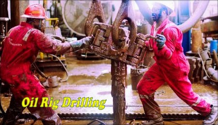 Crude Oil Well Drilling