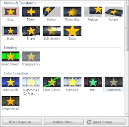 VideoPad Video Effects