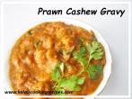 prawn cashews | eraal munthiri gravy