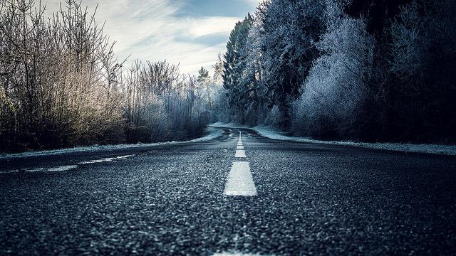Photo intitulé The Dark Ice Road , prise a Douaumont près de Verdun