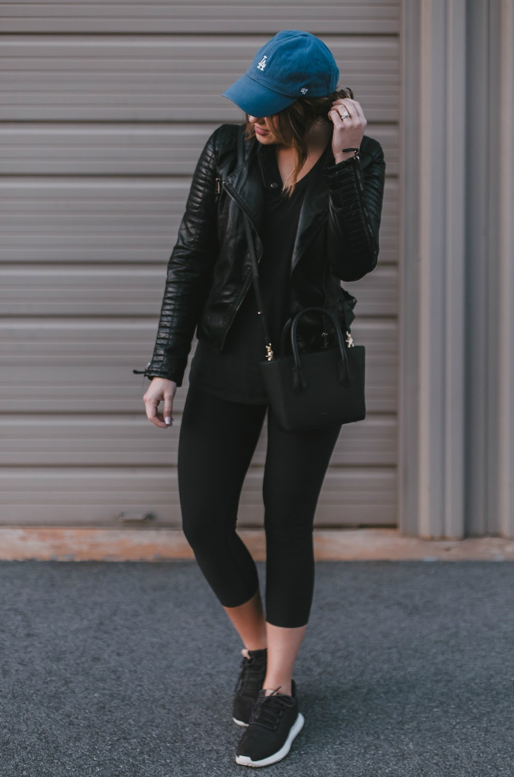 athleisure wear, life and messy hair, xo samantha brooke, samantha brooke, sam brooke photo, nc photographer, greensboro photographer, nc blogger, nike high waisted leggings, adidas tubular shoes