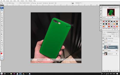 Cara Membuat Mockup Case IPhone 6s Plus