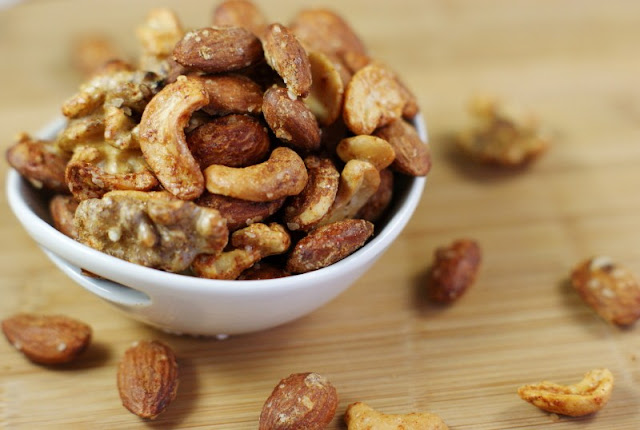 Barbecue Roasted Mixed Nuts