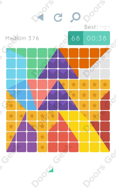 Cheats, Walkthrough for Blocks and Shapes Medium Level 376