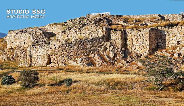 Έργα αποκατάστασης για τα μνημεία UNESCO του Επικούριου Απόλλωνα και της ακρόπολης της Τίρυνθας