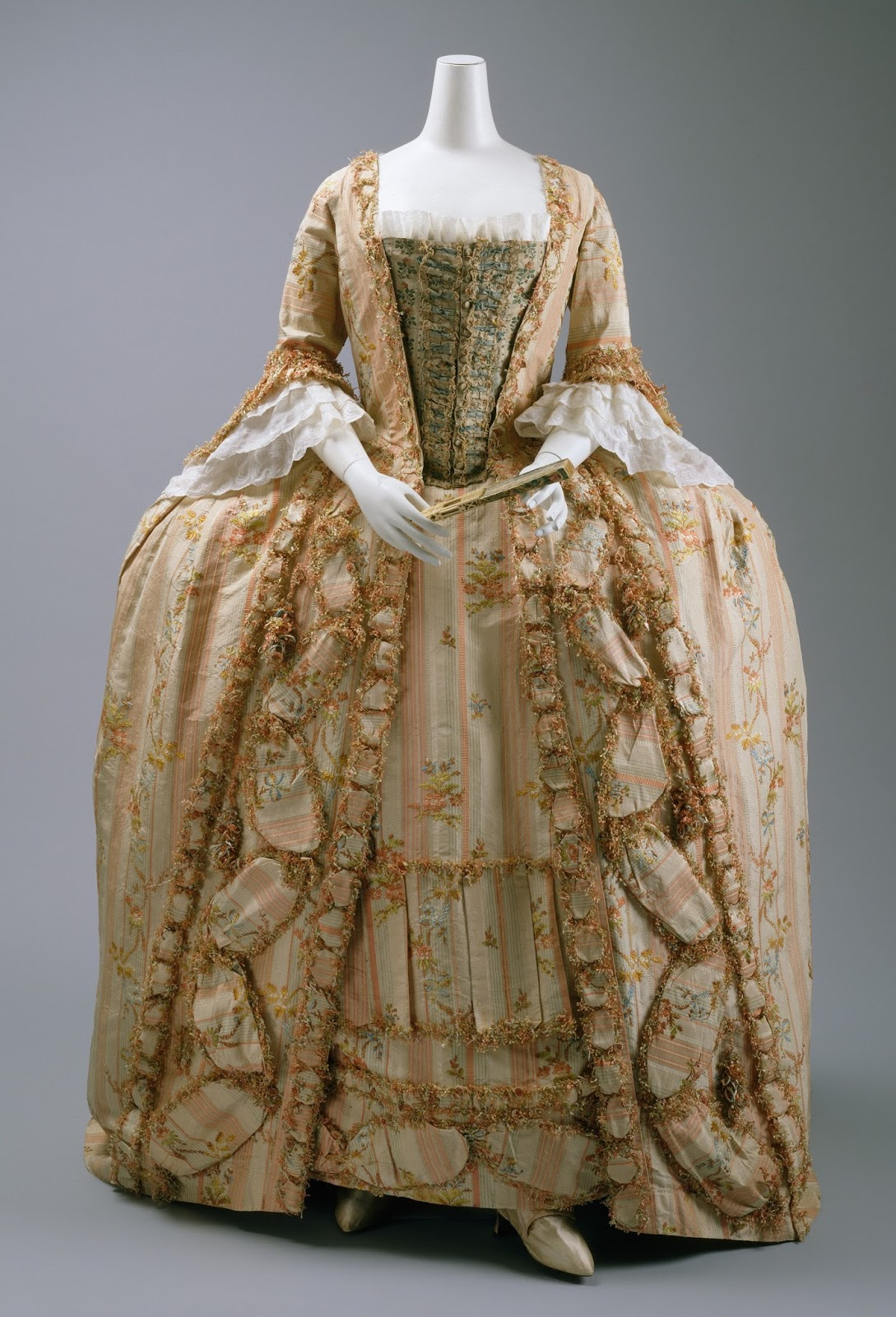 Two Nerdy History Girls  A 1770s Dress Worn by One of the