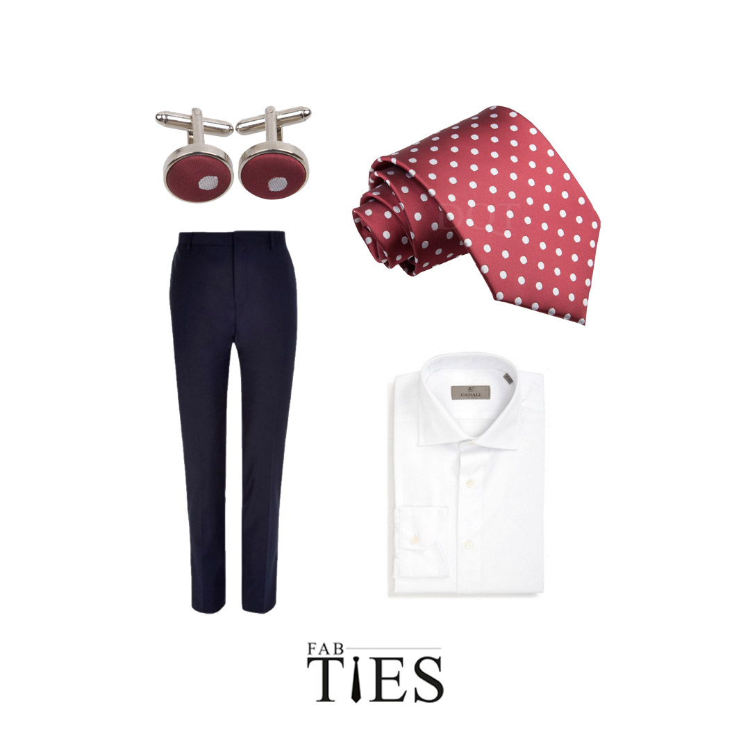 fab ties how to wear cufflinks
