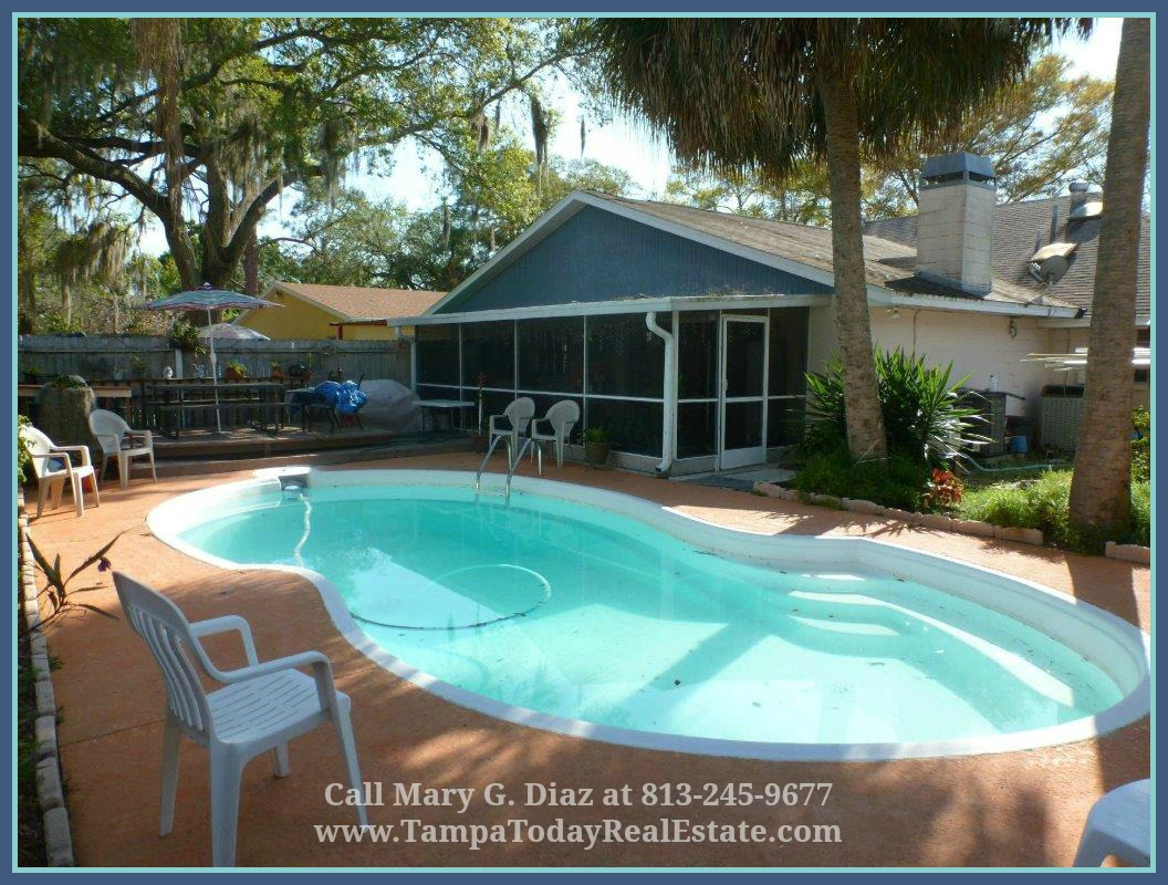 Homes for sale in south tampa tampa fl home for sale with - Homes with swimming pools for sale ...