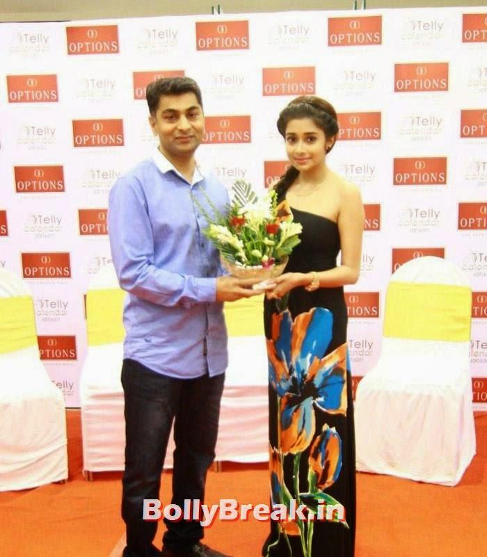Tina Dutta, TV Actresses Visit Option's Mall
