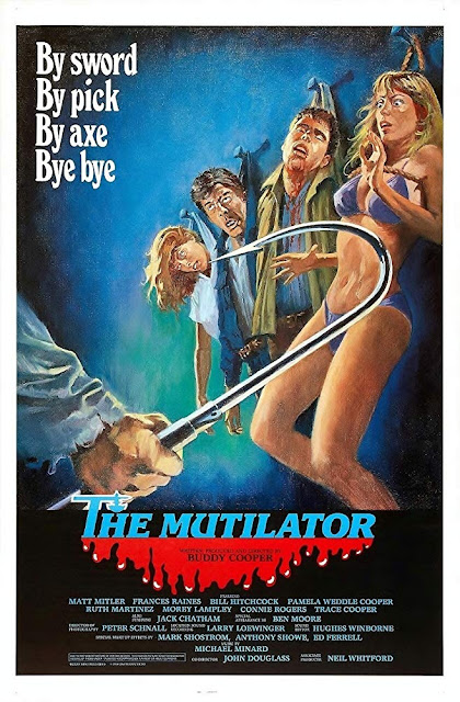 The Mutilator 1984 movie poster