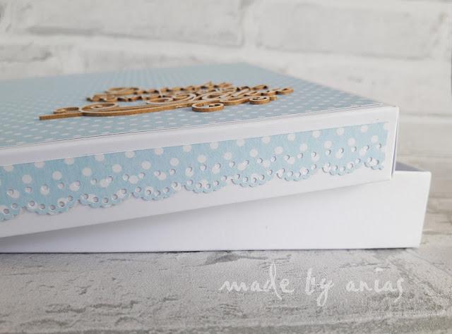dekoracje na pudełku