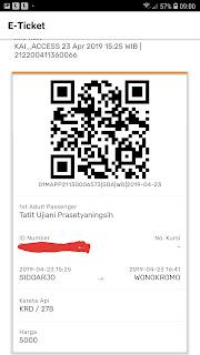 Cara membeli tiket KAI Lokal dengan KAI Access