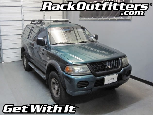 Rack Outfitters: Mitsubishi Montero Sport Thule Rapid ...