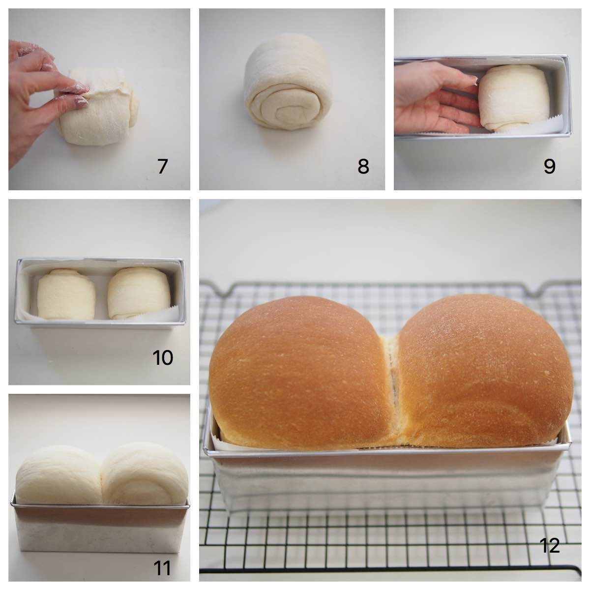 Shokupan Japanese Soft White Bread - BAKE WITH PAWS