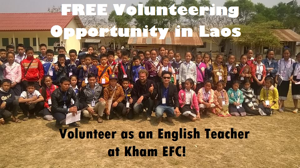 Free Volunteering Opportunity in Laos - Muangkham English