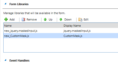 MS CRM Customization: Mask Phone number, Date fields in CRM