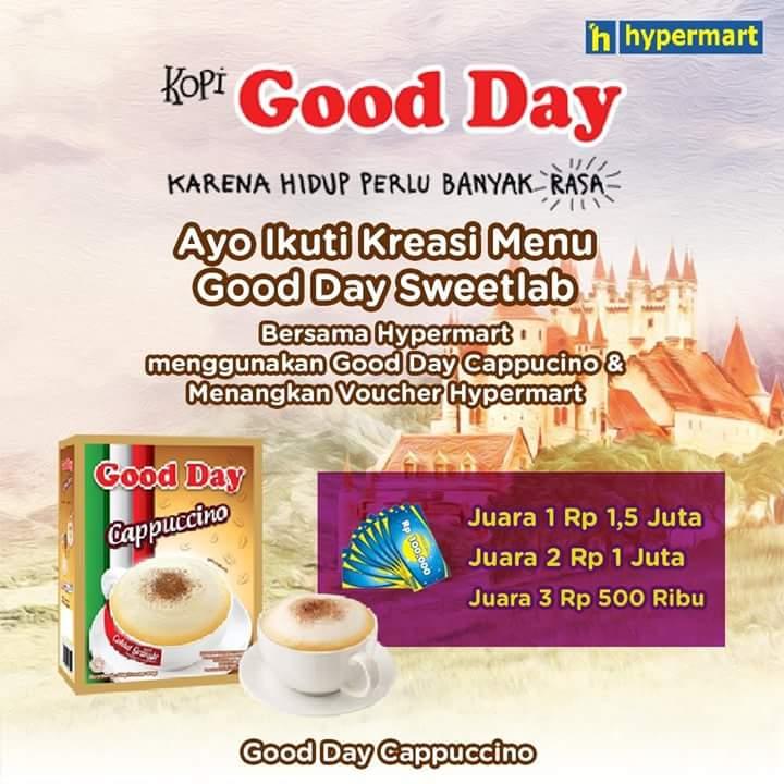 Hypermart - Dapatkan Voucher Hypermart Dengan Ikutan Kreasi Menu Good Day Sweetlab